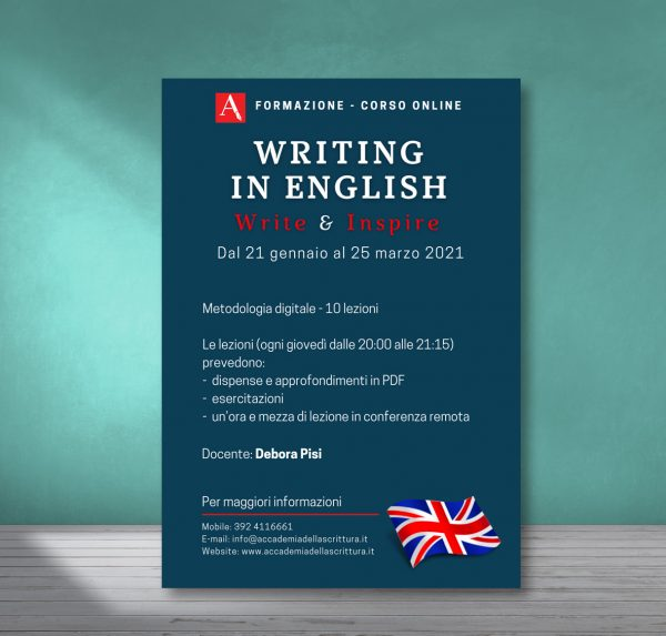 Corso online Writing in English
